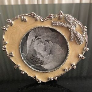 Spring Street heart shaped picture frame